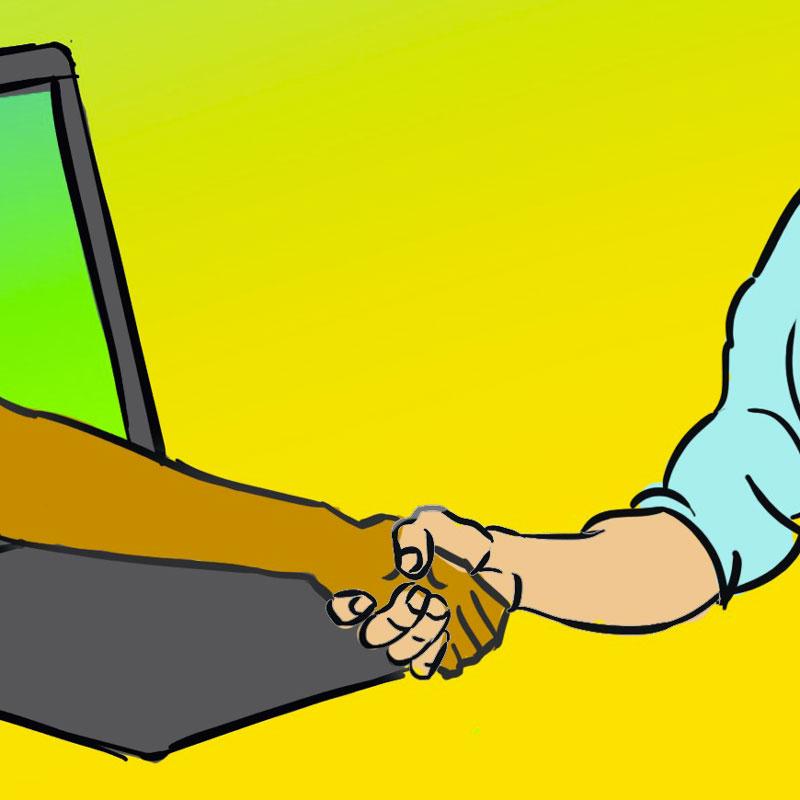 """Il linguaggio del """"galateo"""" digitale"""